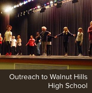 Outreach to Walnut Hills High School
