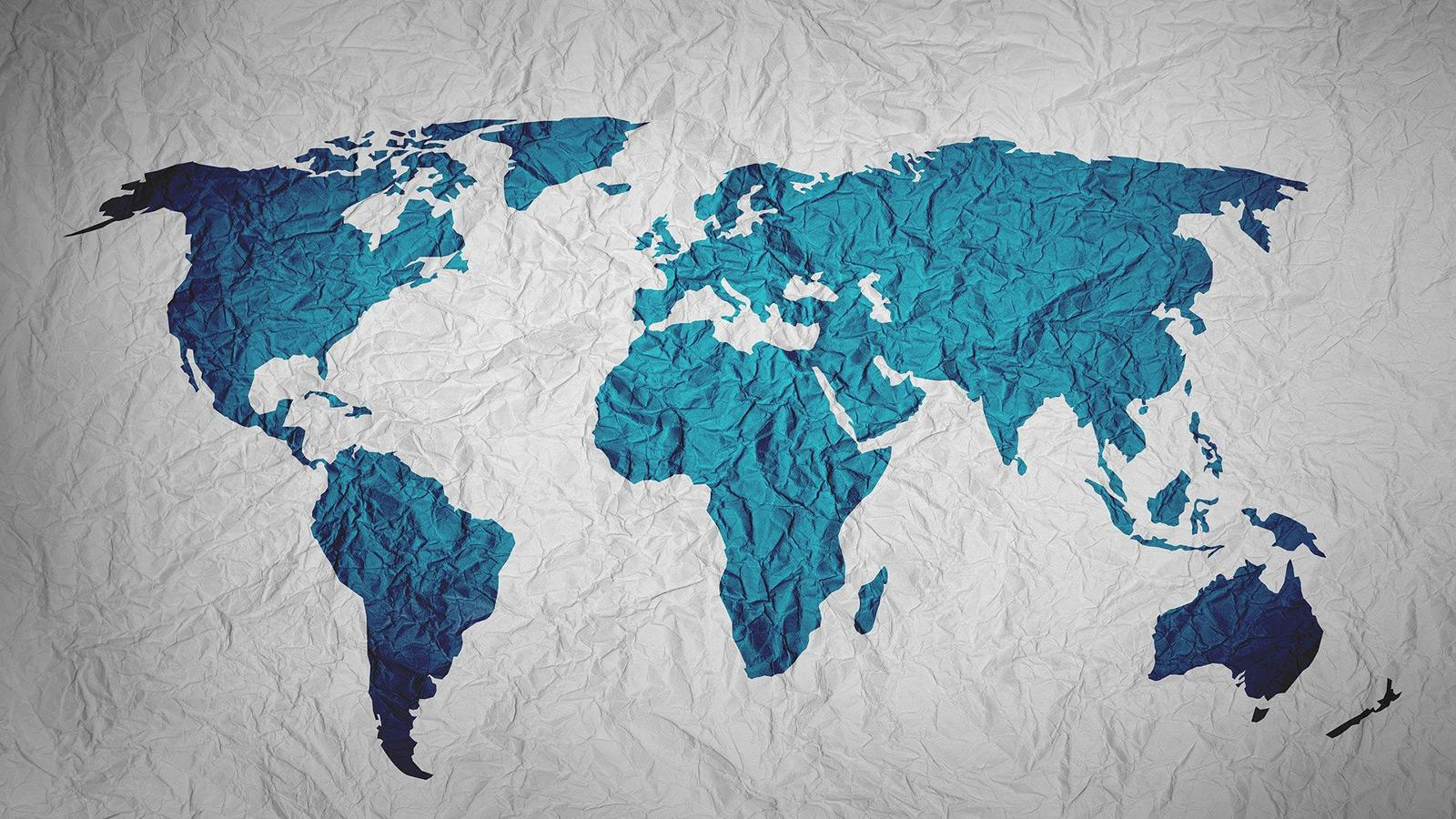 Map of the world, Image by Yuri B from Pixabay