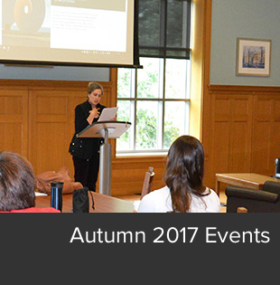 Autumn 2017 Events