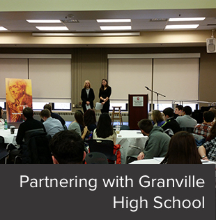 The School of Communication's partnership with a local high school